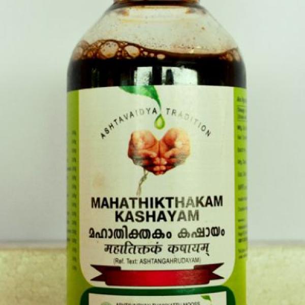 Vaidyaratnam - Mahathikthakam Kashayam