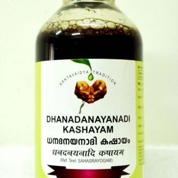 Vaidyaratnam - Dhanadanayanadi Kashayam