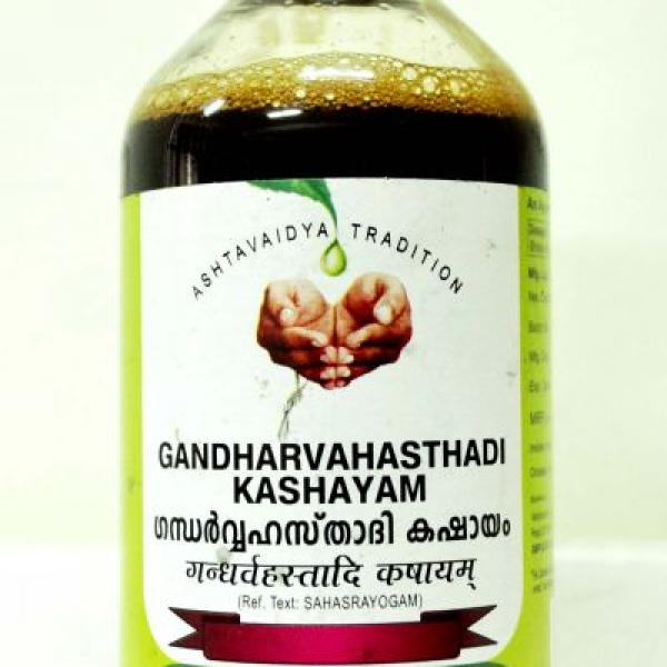 Vaidyaratnam - Gandharvasthadi Thailam