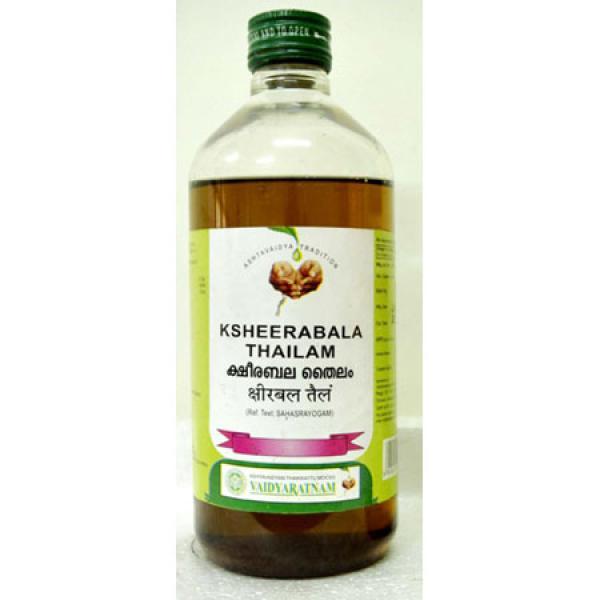 Vaidyaratnam - Ksheerabala Thailam