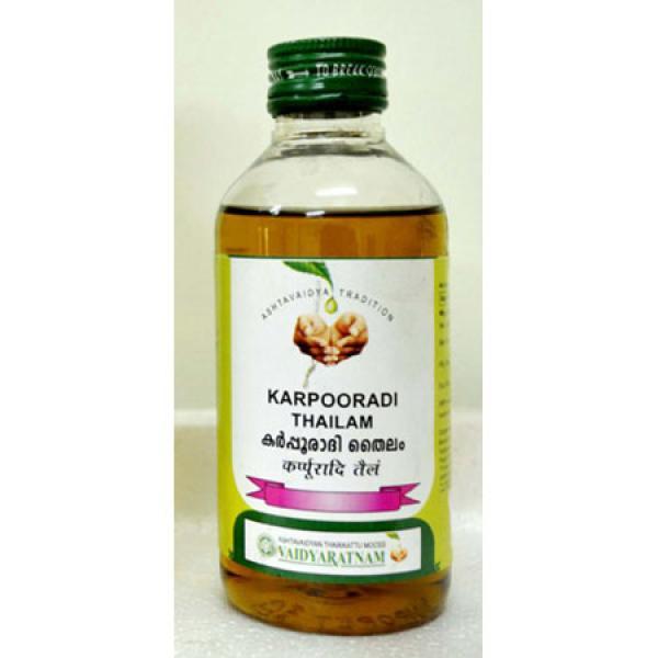 Vaidyaratnam - Karpooradi Thailam