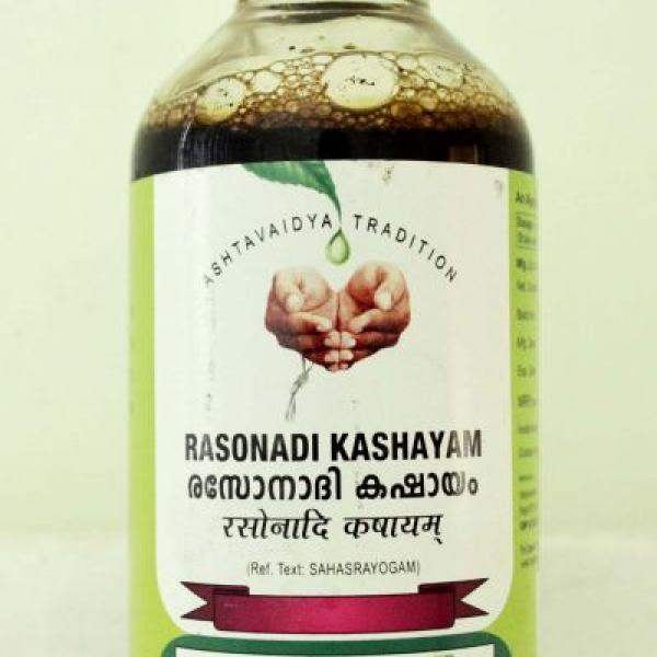 Vaidyaratnam - Rasonadi Kashayam