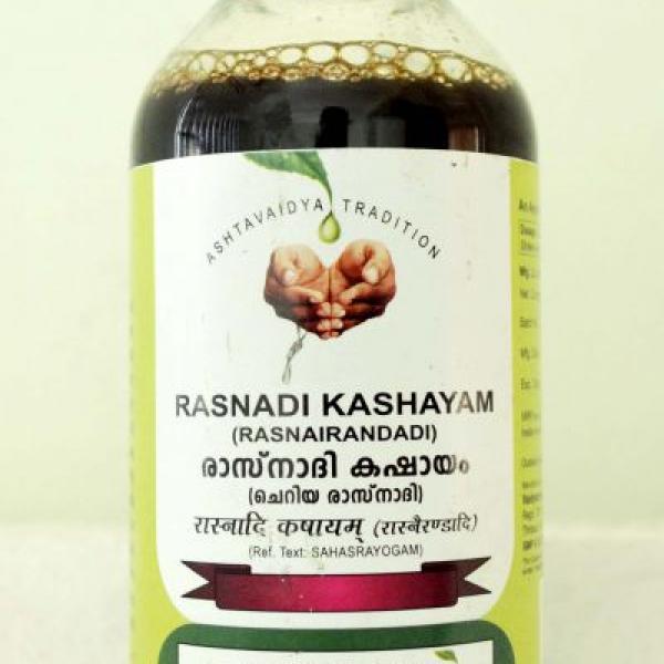 Vaidyaratnam - Rasnadi Kashayam