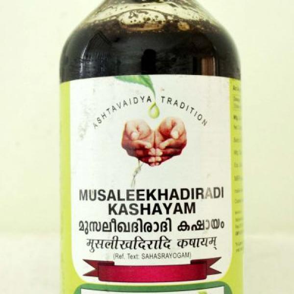 Vaidyaratnam - Musaleekhadiradi Kashayam