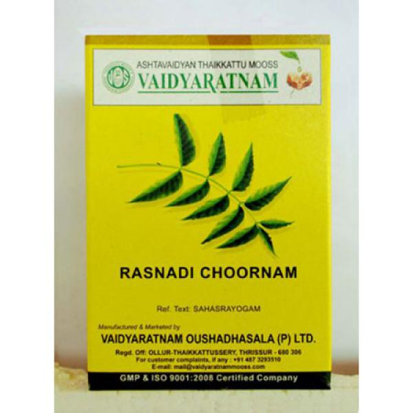 Vaidyaratnam - Rasnadi Choornam