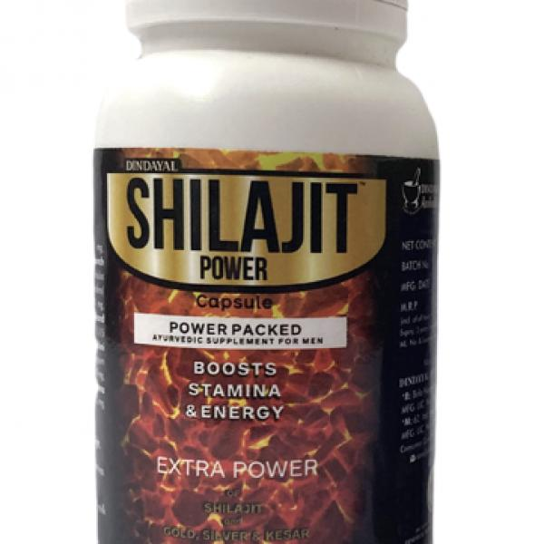 Dindayal - Shilajit Power Capsule (Gold Power)