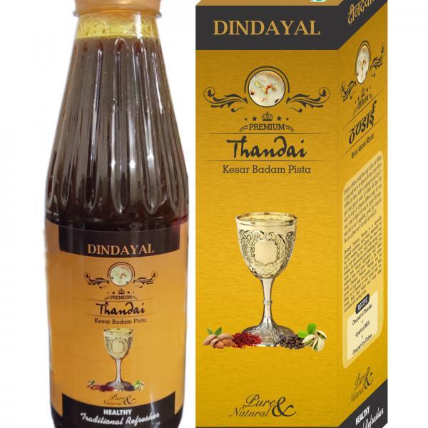 Dindayal - Premium Thandai (Kesar, Badam, Pista)