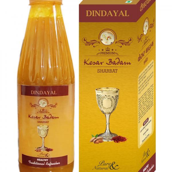 Dindayal - Premium Kesar Badam Sharbat
