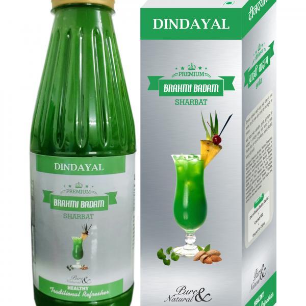 Dindayal - Premium Brahmi Badam Sharbat