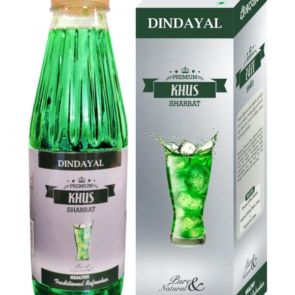 Dindayal - Premium Khus Sharbat