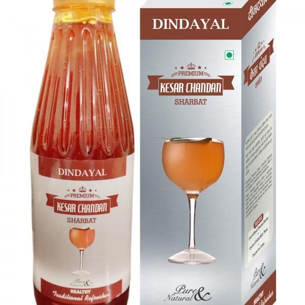 Dindayal - Premium Kesar Chandan Sharbat