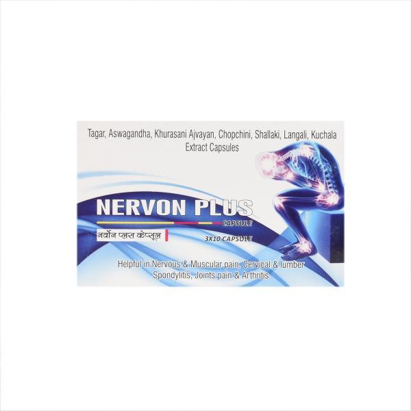 SN Herbals - Nervon Plus Capsules