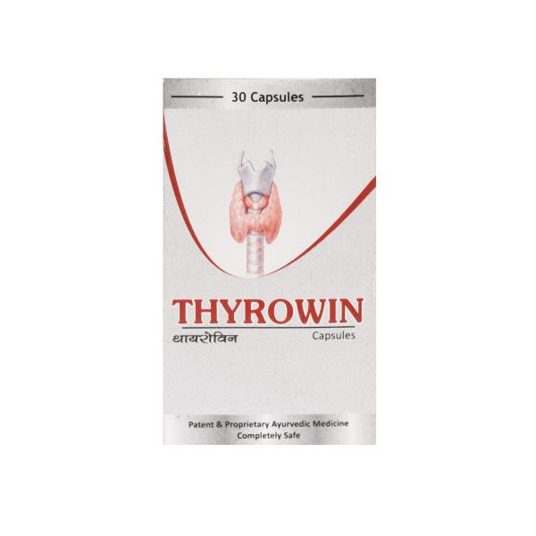 SN Herbals - Thyrowin Capsules