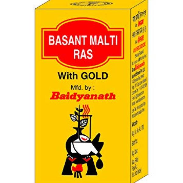 Baidyanath - Basant Malti Ras with Gold