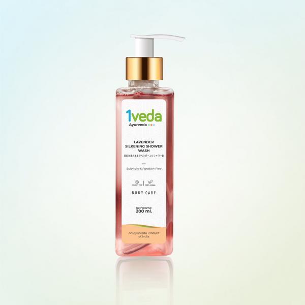 1Veda - Lavender Silkening Shower Wash