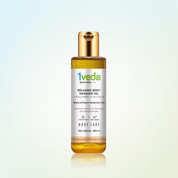 1Veda - Relaxing Body Massage Oil