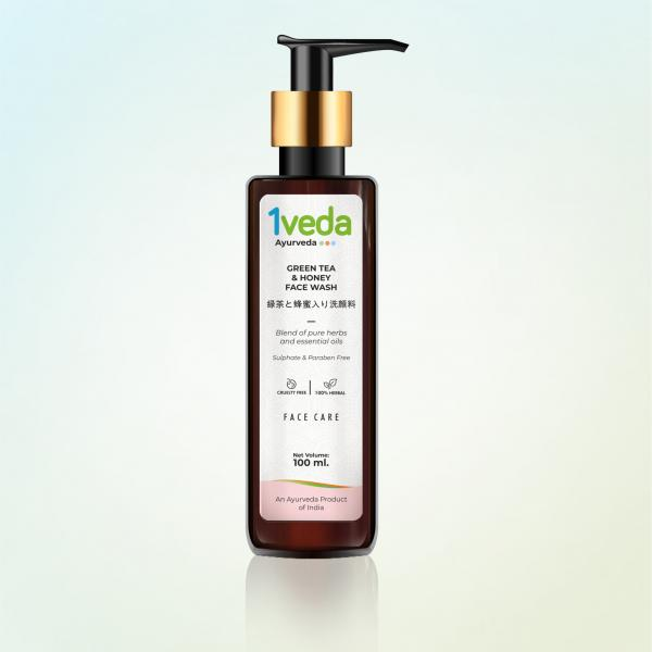 1Veda - Green Tea and Honey Face Wash