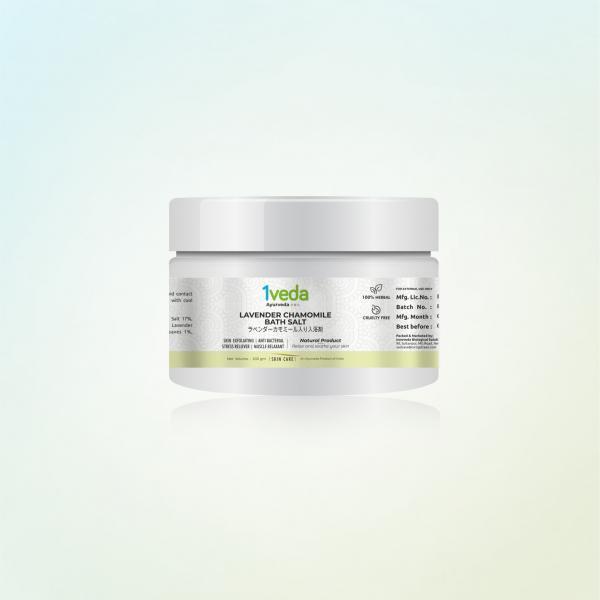 1Veda - Lavender Chamomile Bath Salt