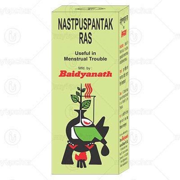 Baidyanath - Nashtpushpantak Ras Tablet
