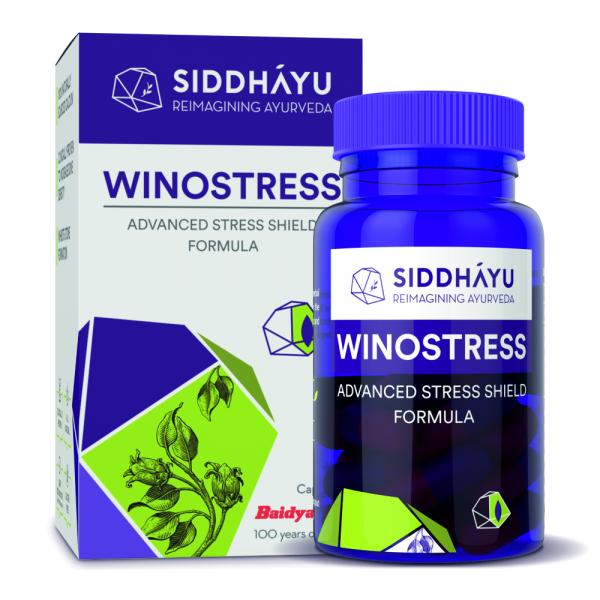 Siddhayu - Siddhayu Winostress | Herbal Stress Support Tablets