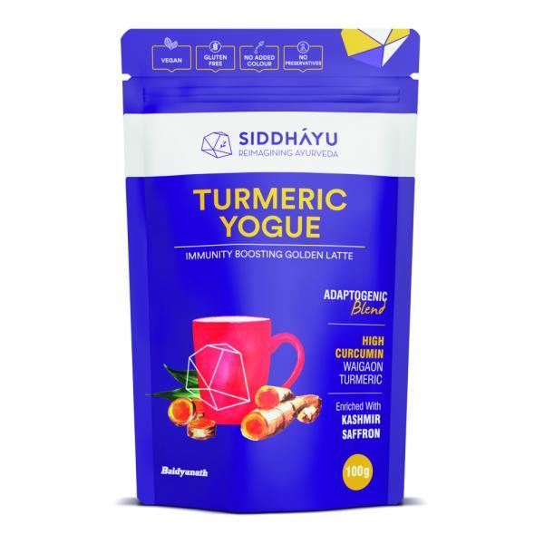 Siddhayu - Siddhayu Turmeric Yogue I Spiced Turmeric Latte Mix I Immunity Booster