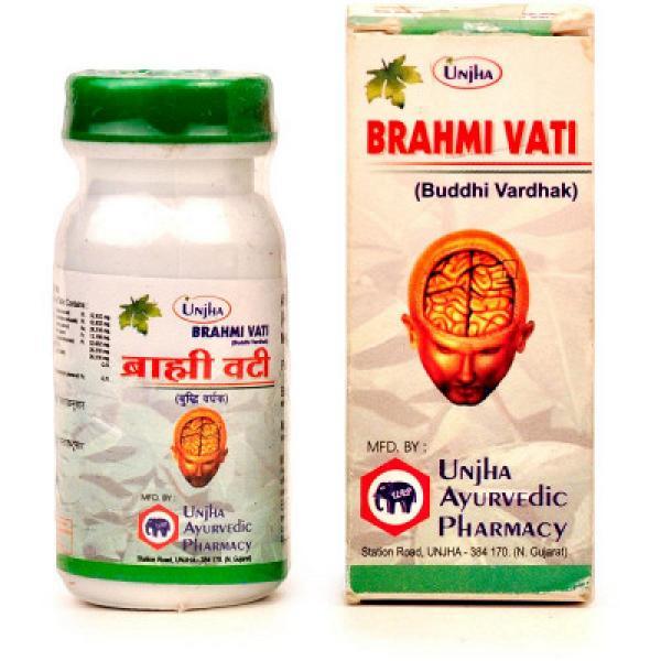 Unjha - Brahmi Vati (Buddhi Vardhak)