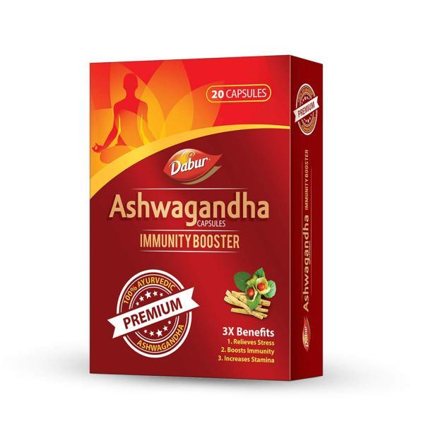 Dabur - Ashwagandha Capsules (Immunity Booster)