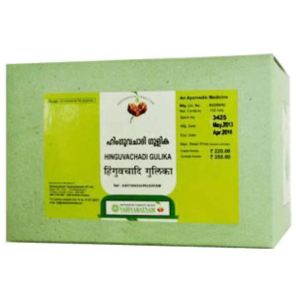 Vaidyaratnam - Hinguvachadi Gulika Tablet