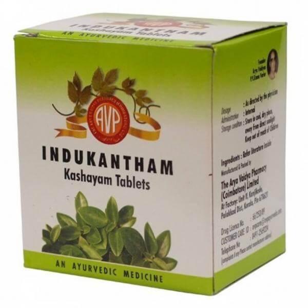 Arya Vaidya Pharmacy - Indukantham Kashayam Tablet