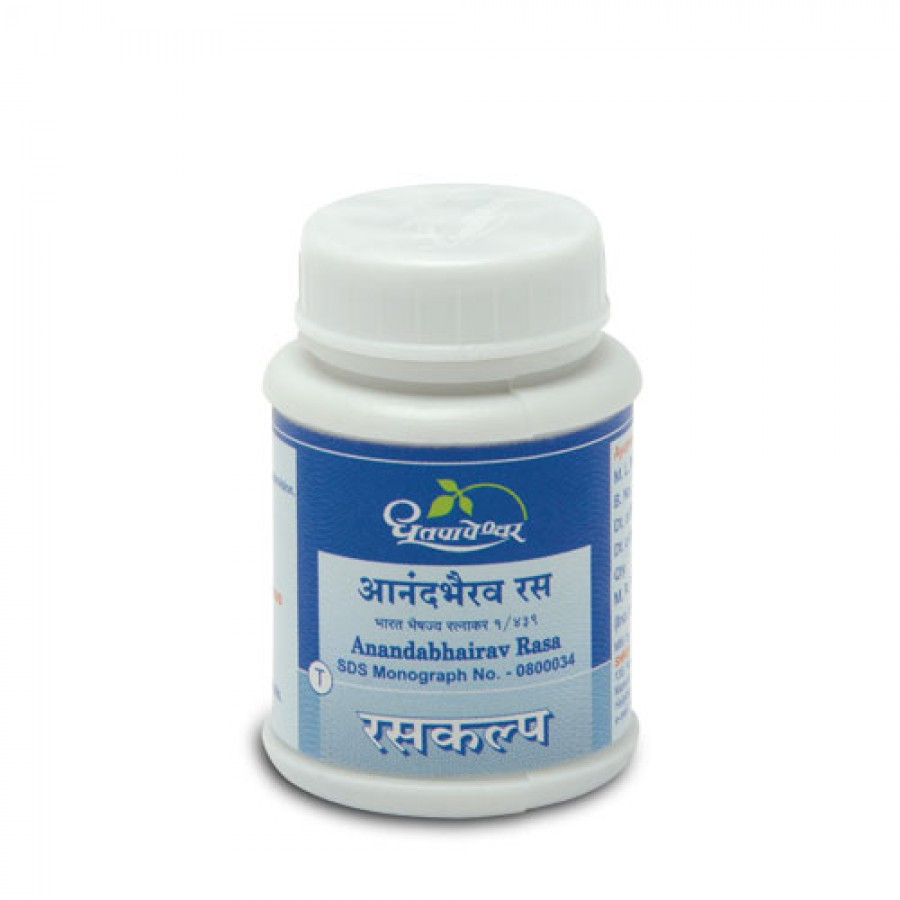 Dhootpapeshwar - Anandbhairav Rasa