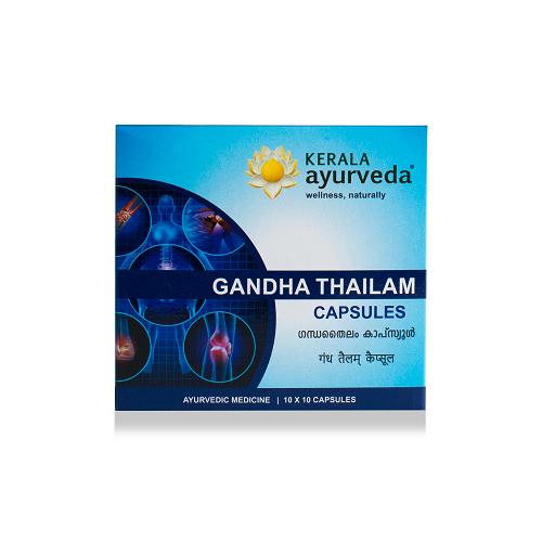 Kerala Ayurveda - Gandha Thailam Capsule