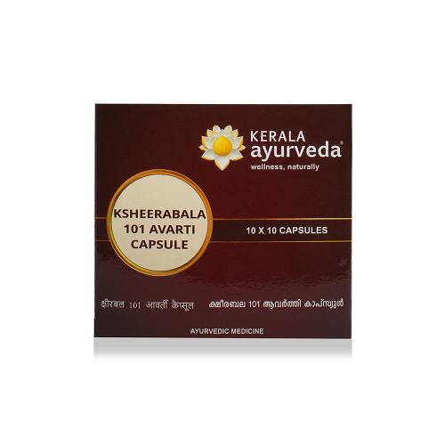 Kerala Ayurveda - Ksheerabala 101 Avarti Capsule