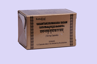 Kottakkal - Vasanta kusumakara rasam 125 mg Capsule