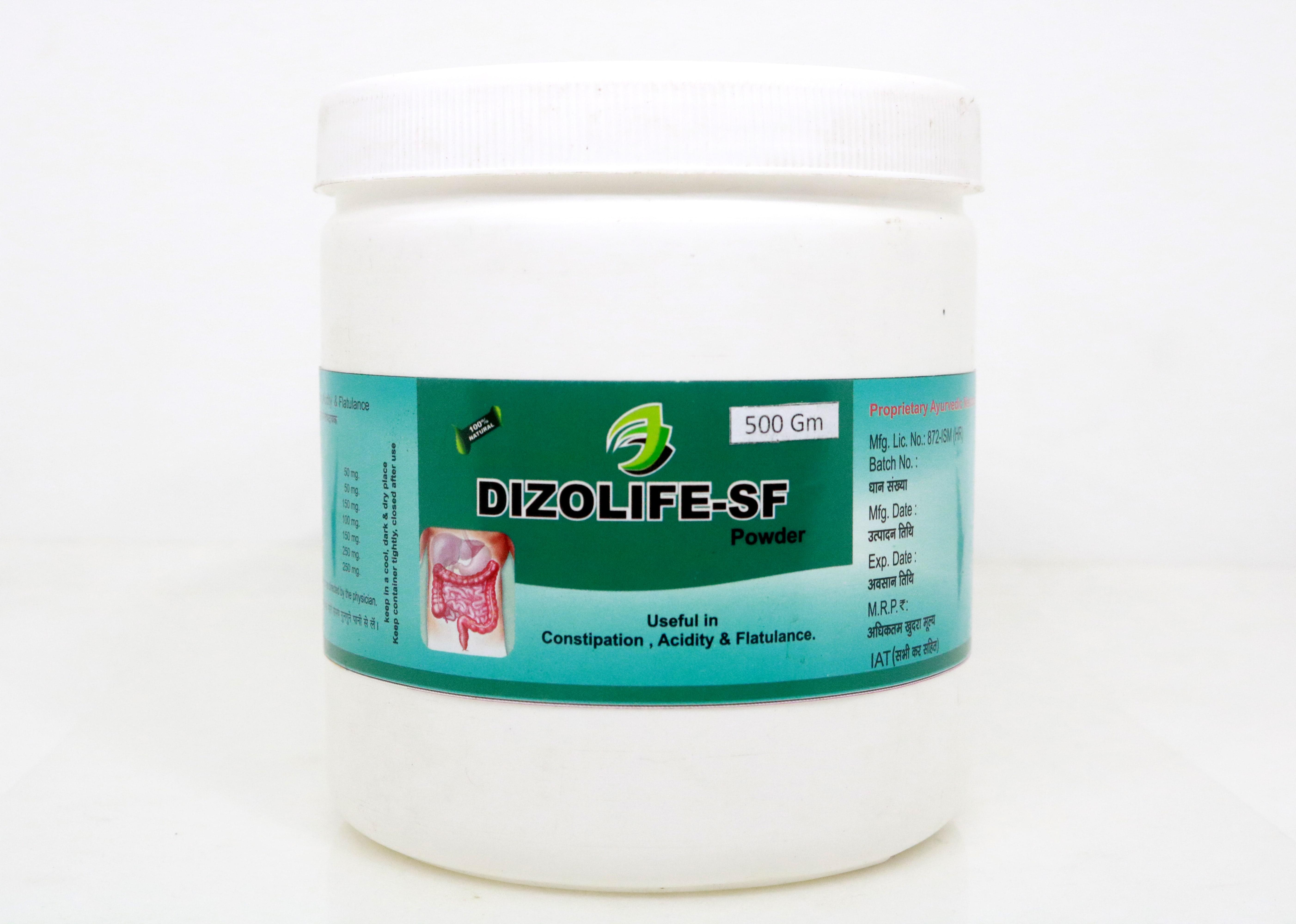 Dr Bhargav's Amazing Herbals - DIZOLIFE-SF POWDER