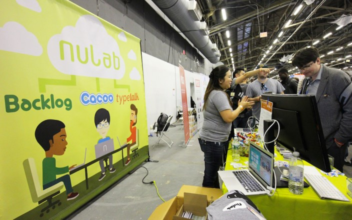 The Nulab Ninjas in action on TechDay! Photo: Kasumi Abe
