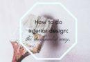 How to do interior design: The Minimalist way.