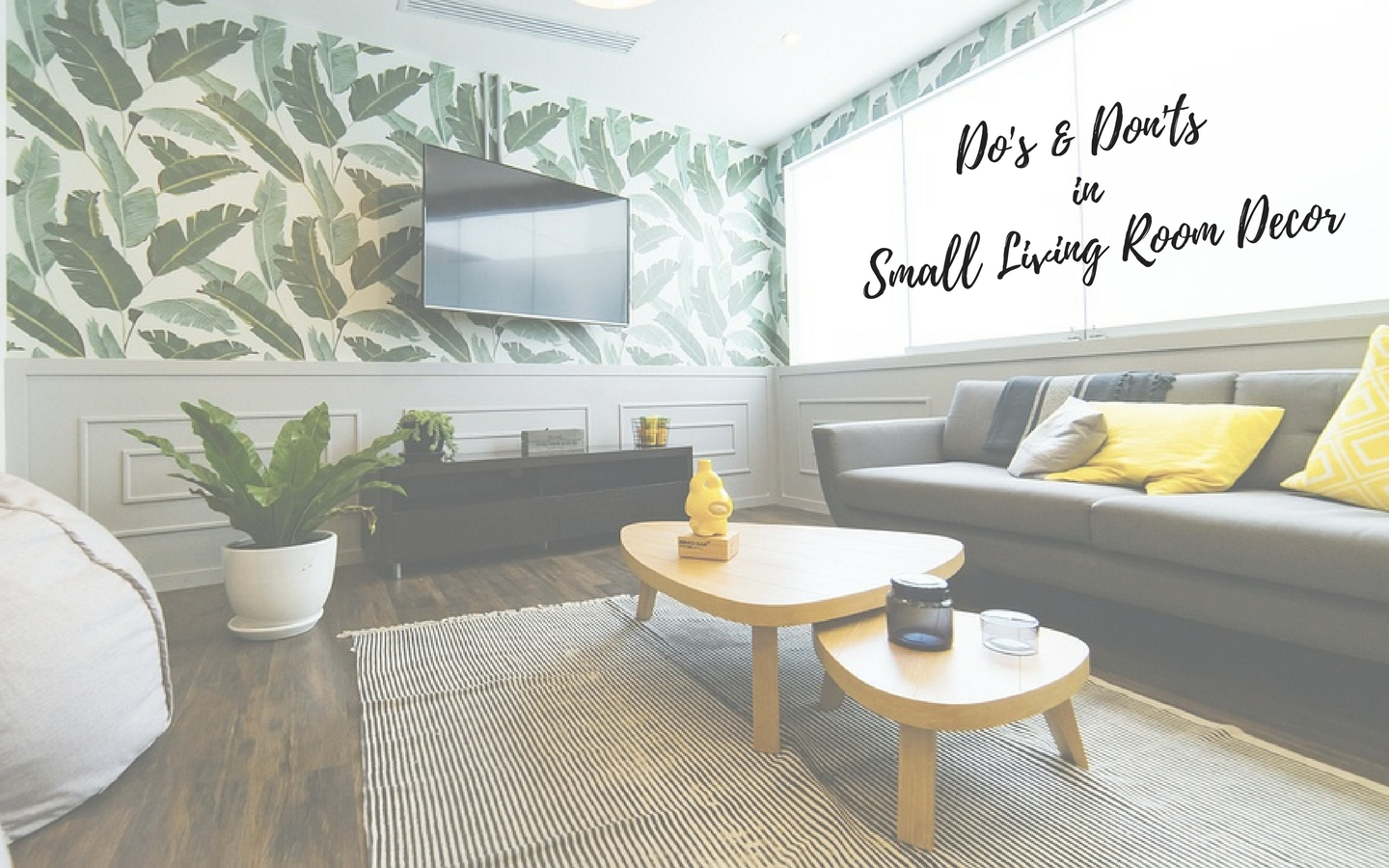 Top image small living room decor