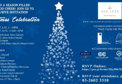 Christmas Celebration with The Luxe by Infinitum