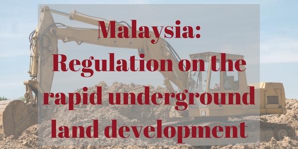 Regulation on the rapid underground land development 1 (1)