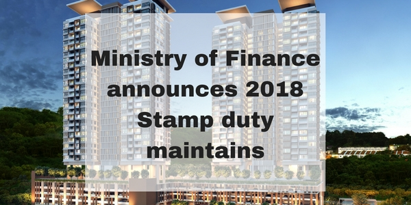 Ministry of Finance announce 2018 Stamp duty maintains