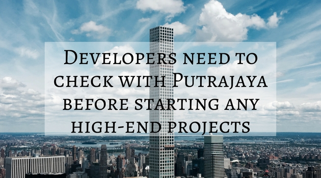 Developers need to check with Putrajaya before starting any projects (1)