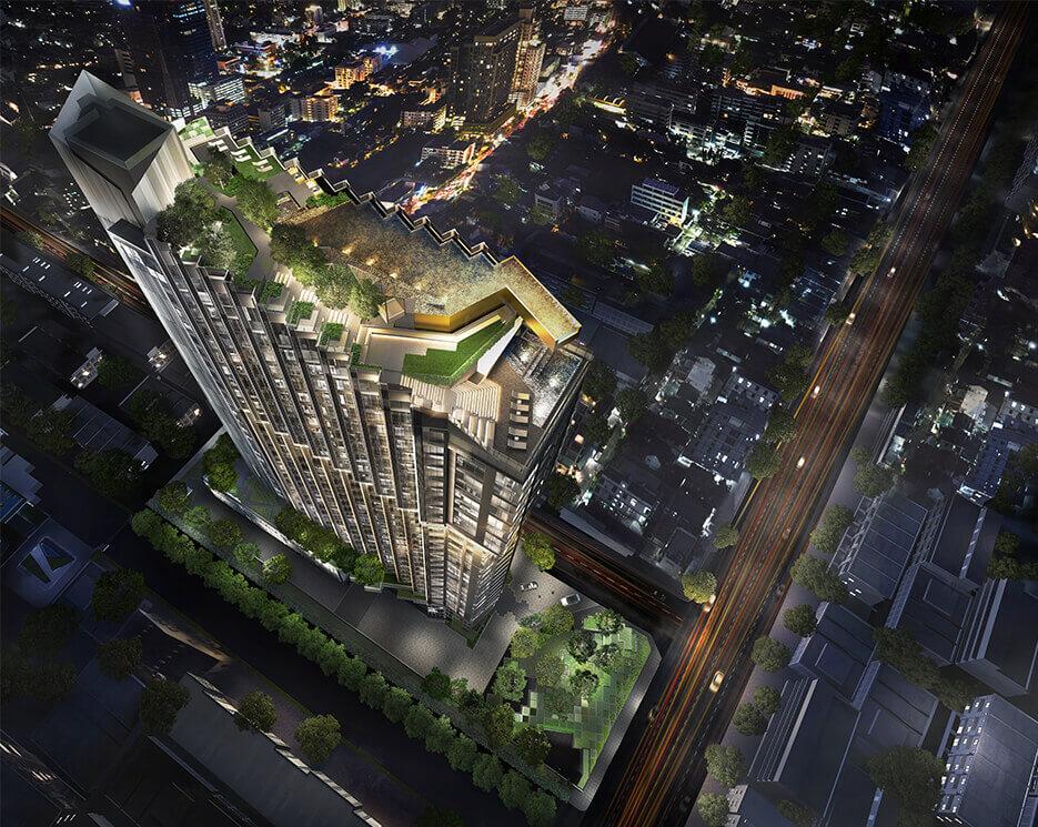 โครงการคอนโดมิเนียม เอดจ์ พัทยากลาง (EDGE Central Pattaya)