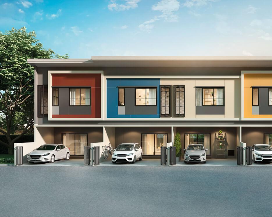 โครงการบ้านทาวน์โฮม Townhome ทาวน์เฮ้าส์ สิริ เพลส ราชพฤกษ์ - พระราม 5 (Siri Place Ratchapruek - Rama 5)