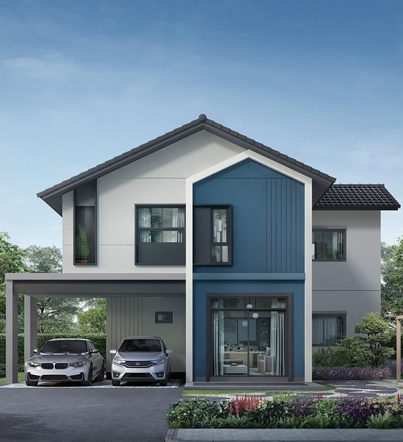 โครงการบ้านเดี่ยว บ้านจัดสรร อณาสิริ กรุงเทพ-ปทุมธานี (Anasiri Krungthep-Pathumthani)