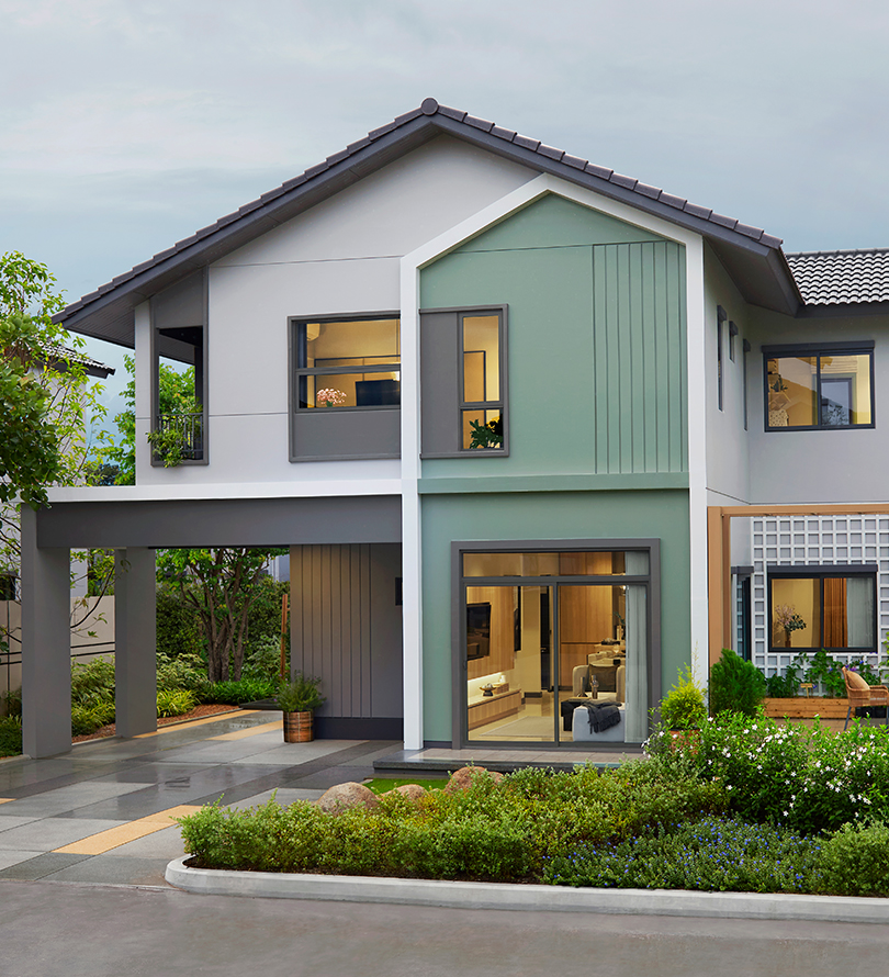 โครงการบ้านเดี่ยว บ้านจัดสรร อณาสิริ กรุงเทพ - ปทุมธานี (Anasiri Krungthep-Pathumthani)