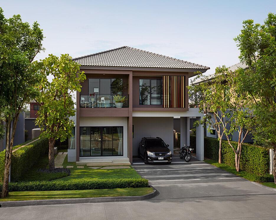 โครงการบ้านเดี่ยว บ้านจัดสรร บุราสิริ รังสิต (Burasiri Rangsit)