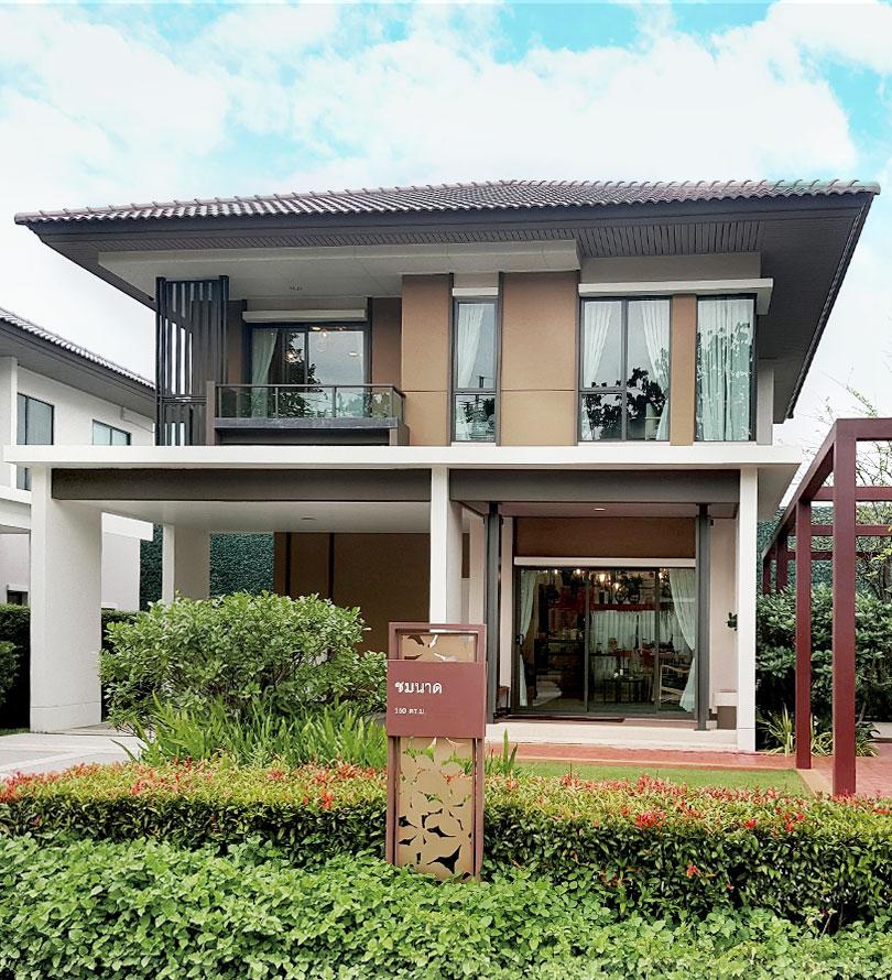 บ้านเดี่ยว บุราสิริ ราชพฤกษ์ - 345
