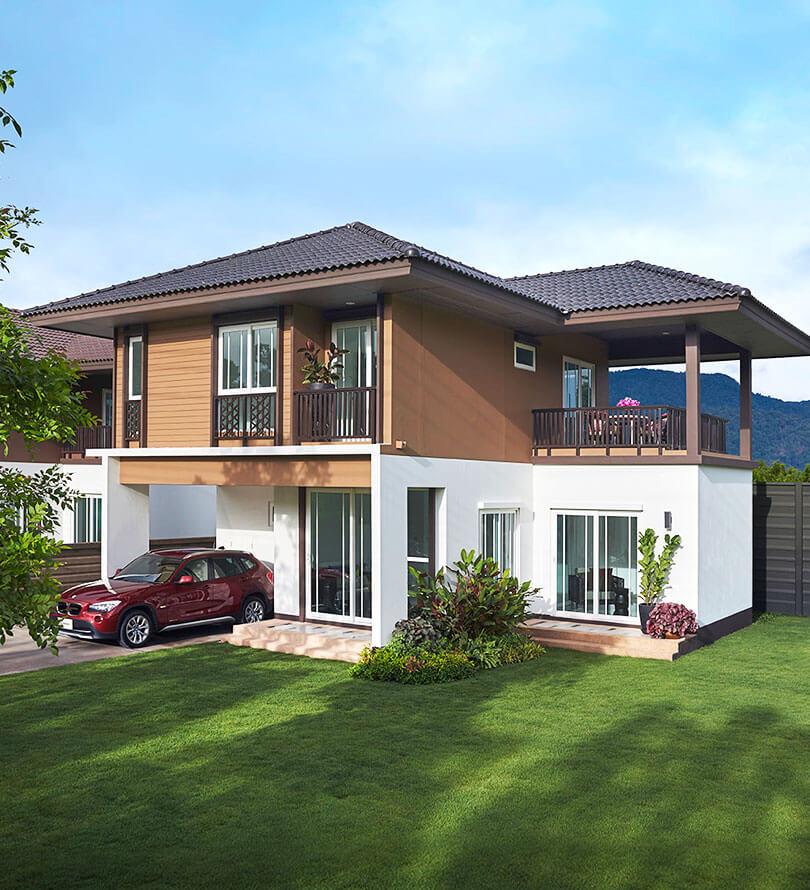 โครงการบ้านเดี่ยว บ้านจัดสรร บุราสิริ สันผีเสื้อ เชียงใหม่ (Burasiri San Phi Suea )