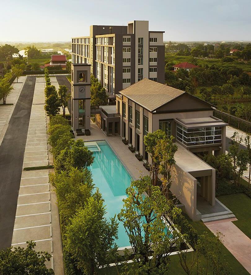 โครงการคอนโดมิเนียม ดีคอนโด แคมปัส รีสอร์ท บางนา (dcondo campus resort Bangna)