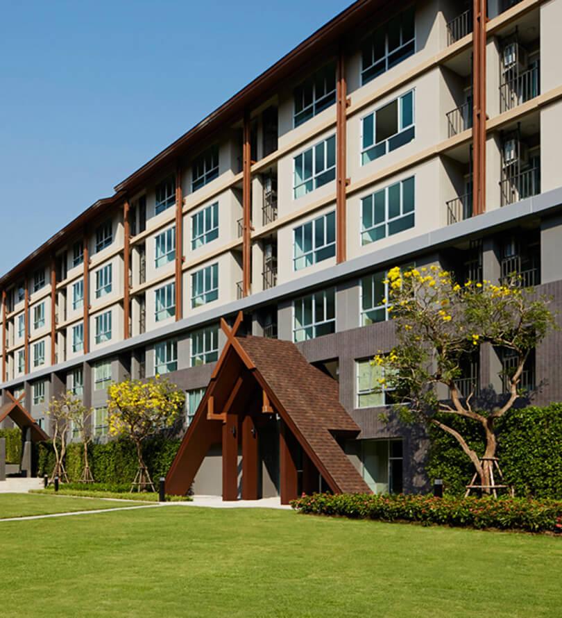 โครงการคอนโดมิเนียม ดีคอนโด แคมปัส รีสอร์ท เชียงใหม่ (dcondo campus resort Chiangmai)